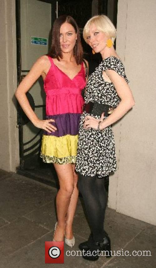 Linzi Stoppard and Charlotte Dutton 'The Evite Night...