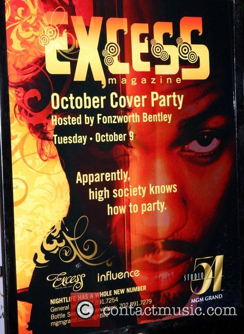 Atmosphere Excess Magazine's Cover Party at Studio 54's...
