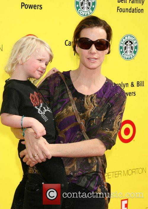 Rachel Griffiths and Her Child 8