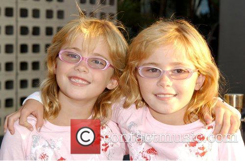 Amy Schlagel and Zoe Schlagel Premiere Of 'Eye...