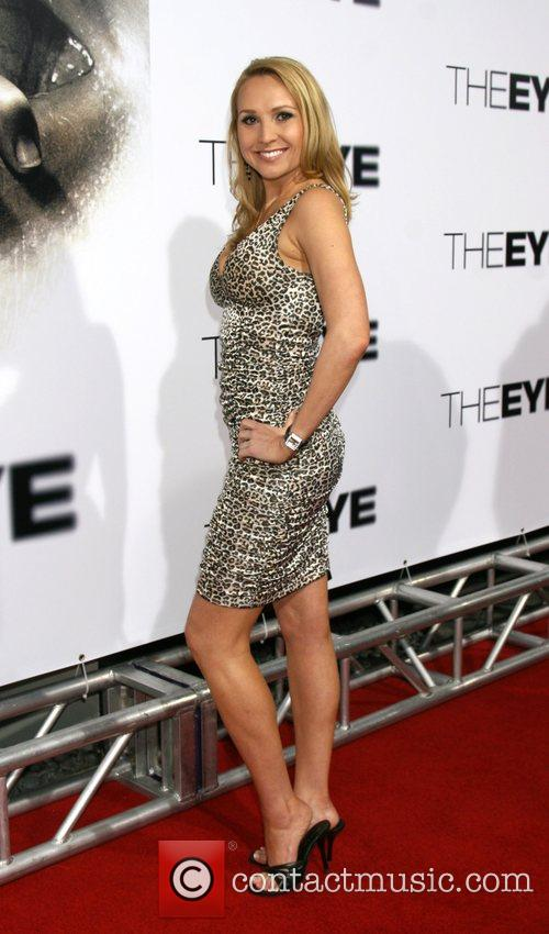Alana Curry Los Angeles Premiere of 'The Eye'...