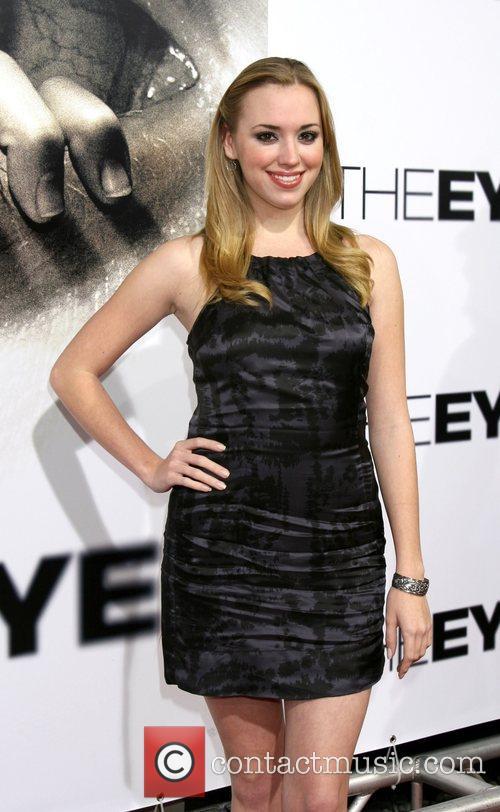 Andrea Bowen Los Angeles Premiere of 'The Eye'...
