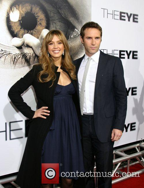 Jessica Alba & Alessandro Nivola  Los Angeles...