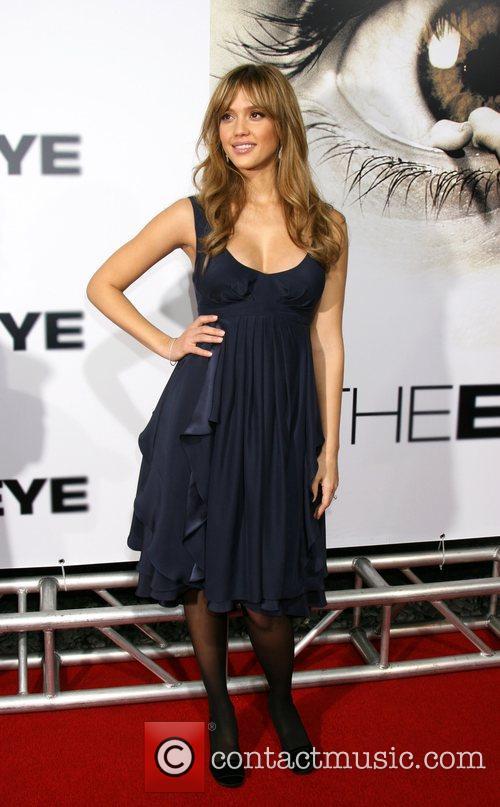 Jessica Alba Los Angeles Premiere of 'The Eye'...
