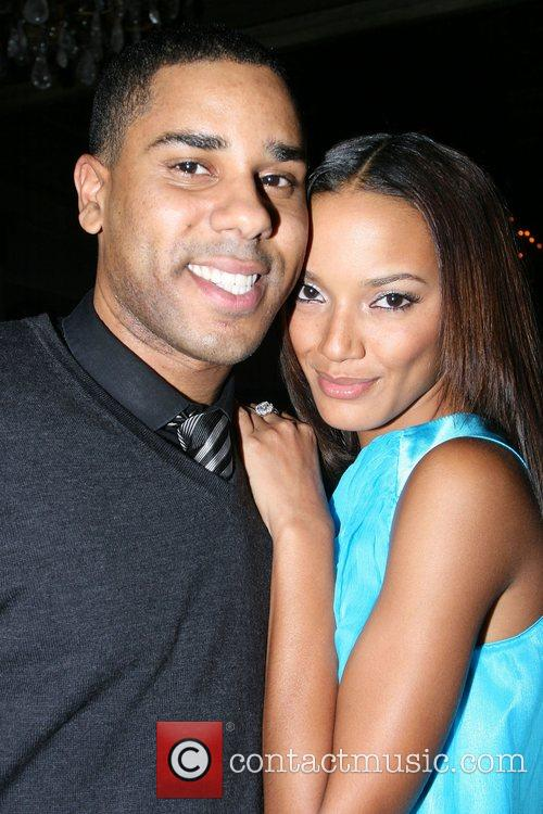 BJ Coleman and Selita Ebanks Launch party for...