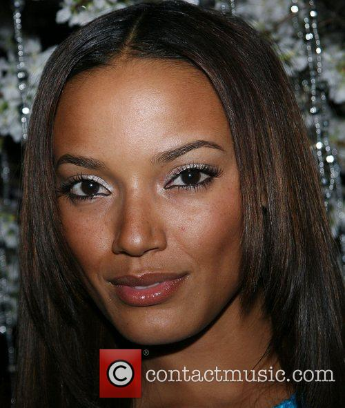 Selita Ebanks Launch party for Baby Phat Fabulosity...