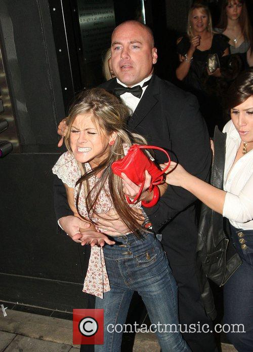 Nikki Graham being thrown out of Faces nightclub
