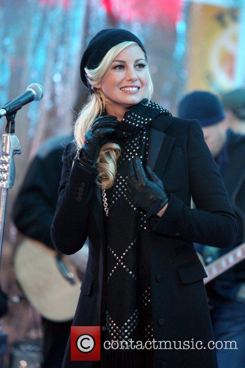 Faith Hill, Rockefeller Plaza