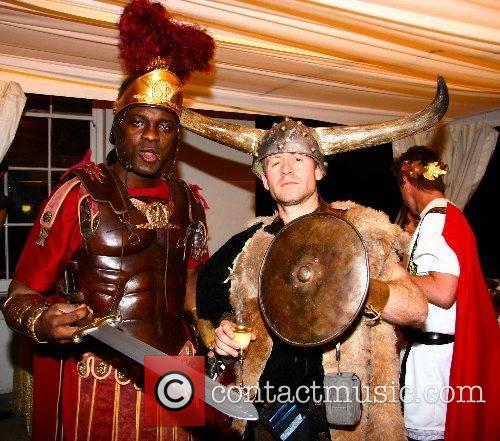 Guests The Fall Of Rome party held at...