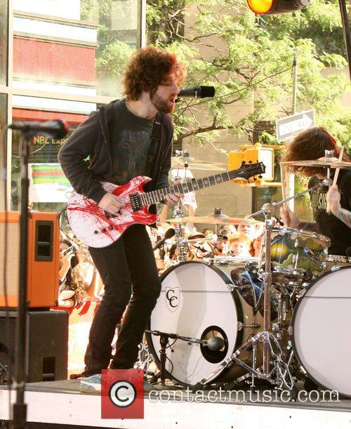 Fall Out Boy performs Live on NBC's 'The...