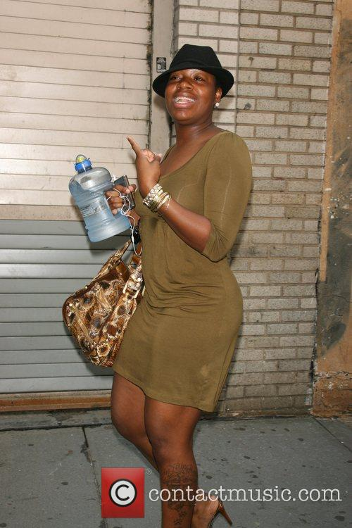 Fantasia Barrino makes sure to keep hydrated with...