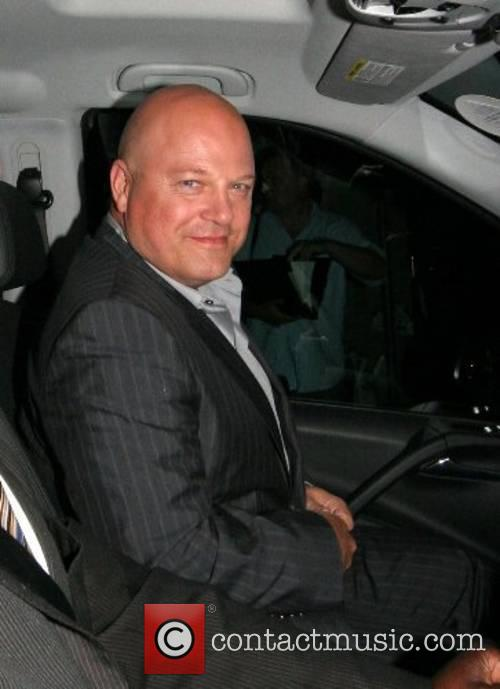 Michael Chiklis leaving the 'Fantastic Four' after party...