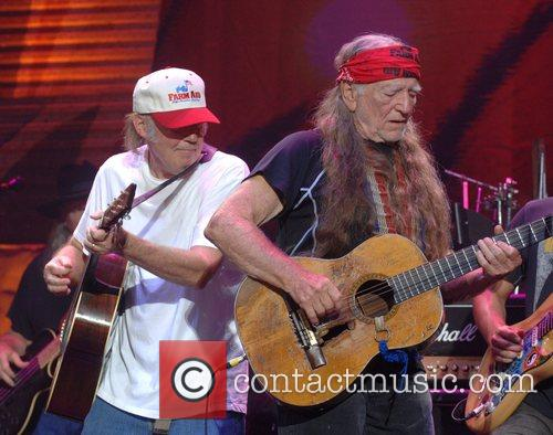 Neil Young and Willie Nelson 7