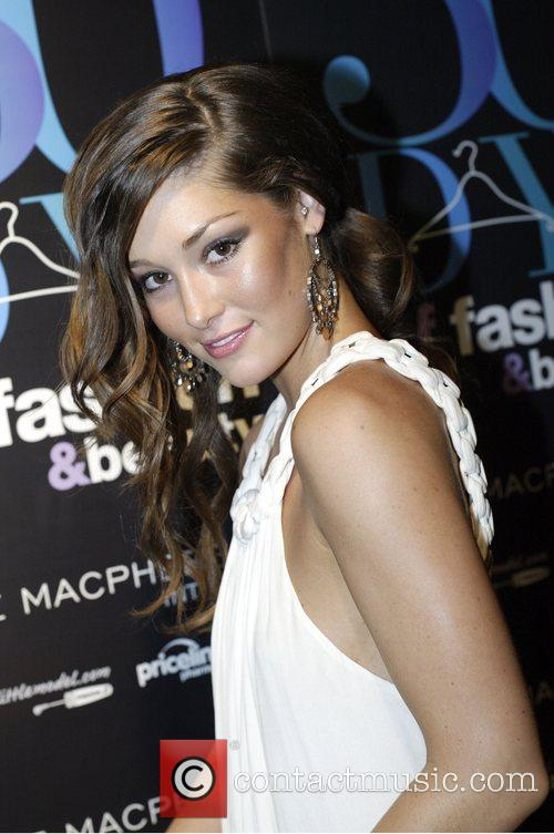 Miss Australia Erin McNaught Official launch party for...