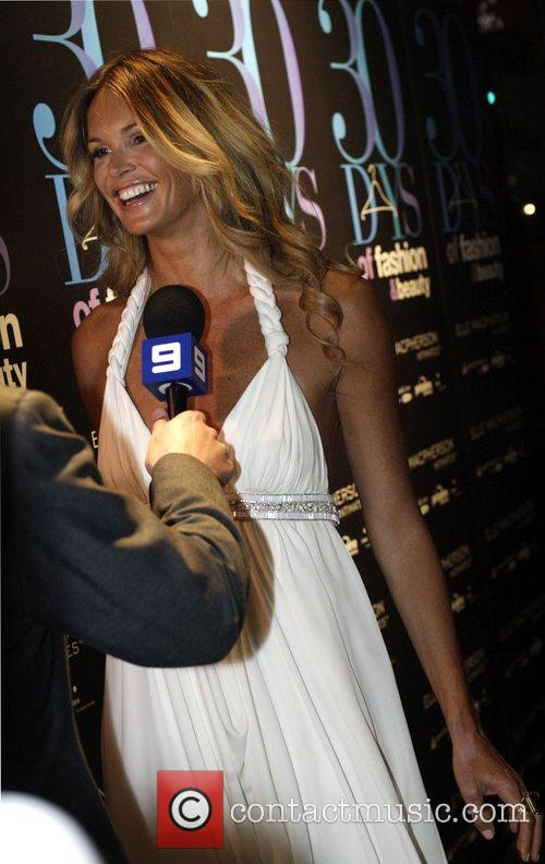 Elle Macpherson Official launch party for '30 Days...