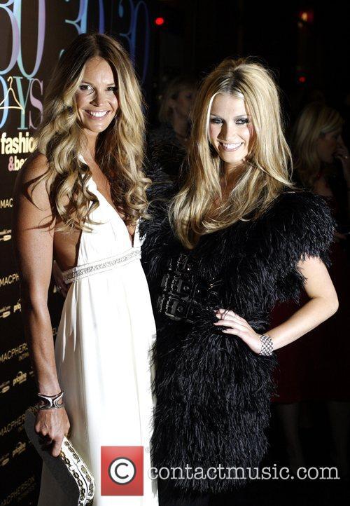 Elle Macpherson and Delta Goodrem Official launch party...