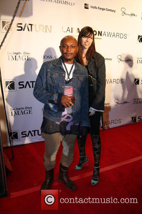 Kristopher Amy and Enuke 2007 LA Fashion Awards...