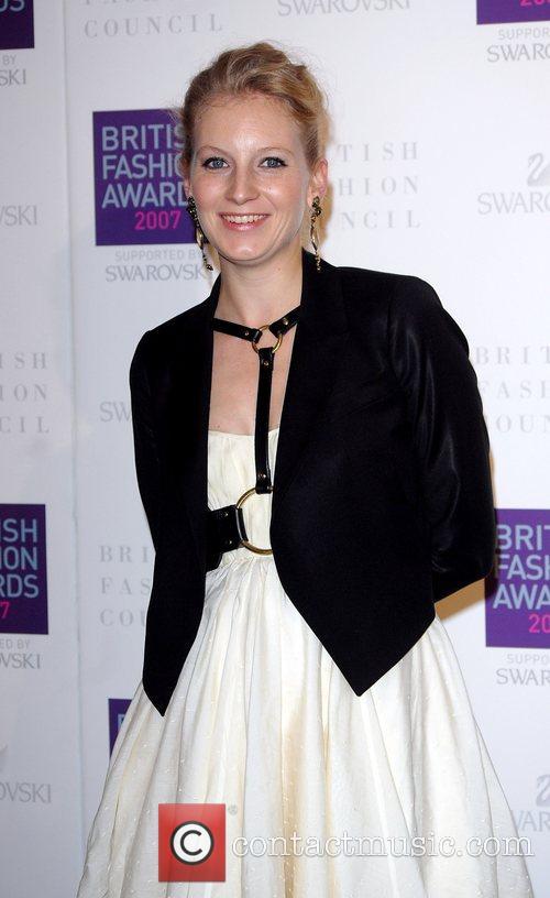 Savannah Miller British Fashion Awards held at the...