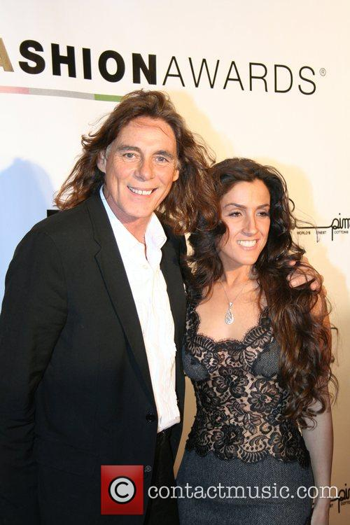 George Blodwell and guest 2007 LA Fashion Awards...