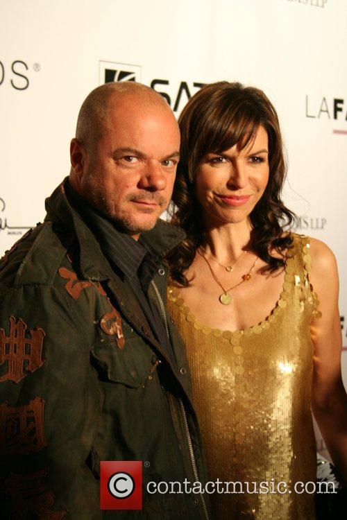 Russell Young and Finola Hughes 2007 LA Fashion...