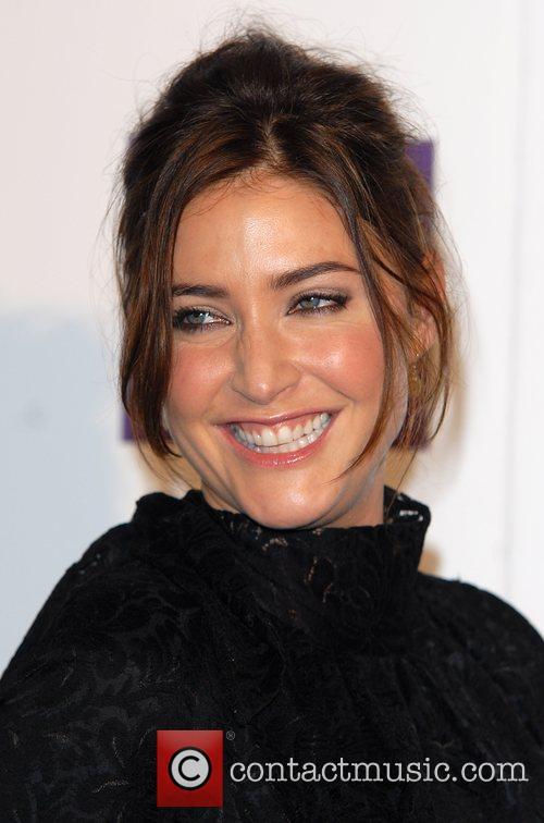 Lisa Snowdon British Fashion Awards held at the...