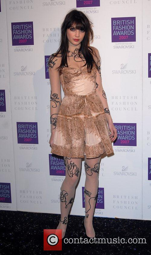 Daisy Lowe British Fashion Awards held at the...