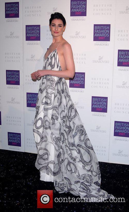 Erin O'Connor British Fashion Awards held at the...