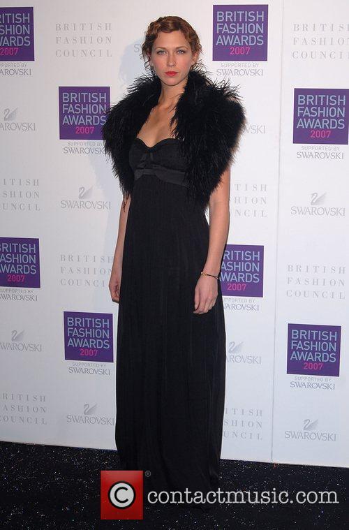 British Fashion Awards held at the Royal Horticultural...