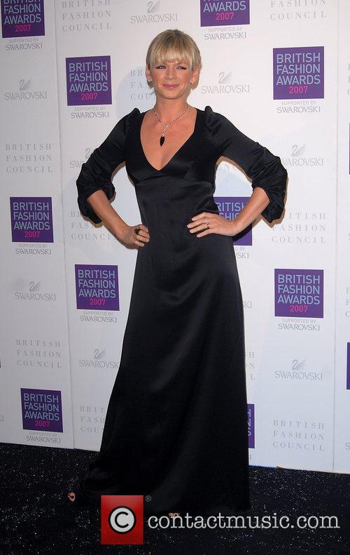 Zoe Ball British Fashion Awards held at the...