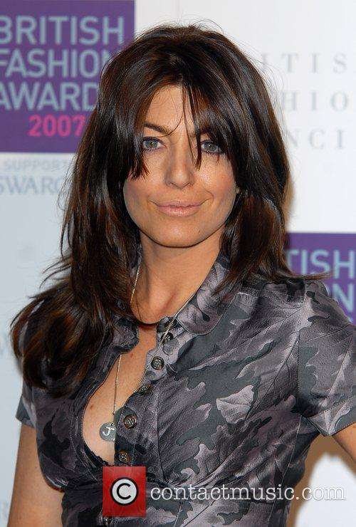Claudia Winkleman British Fashion Awards held at the...