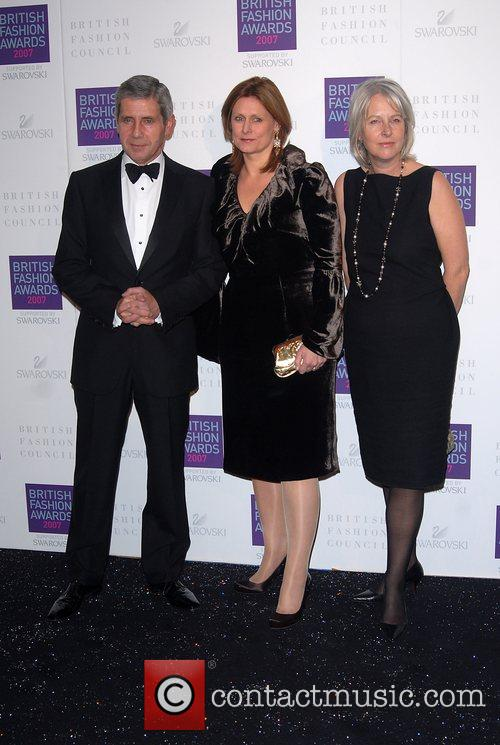 Guest, Sarah Brown, Guest British Fashion Awards held...