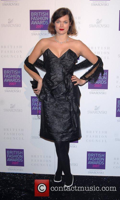 Jasmine Guinness British Fashion Awards held at the...