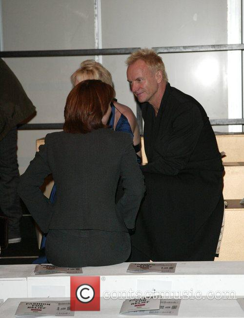 Trudie Styler and Sting (aka Gordon Sumner) Fashion...