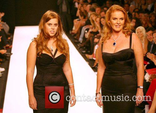 Sarah Ferguson and Princess Beatrice Fashion For Relief...