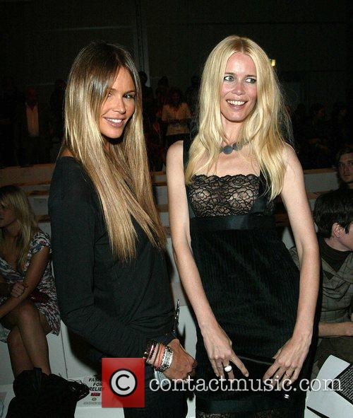 Elle Macpherson and Claudia Schiffer  Fashion For...
