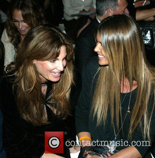 Jemima Khan and Elle Macpherson Fashion For Relief...