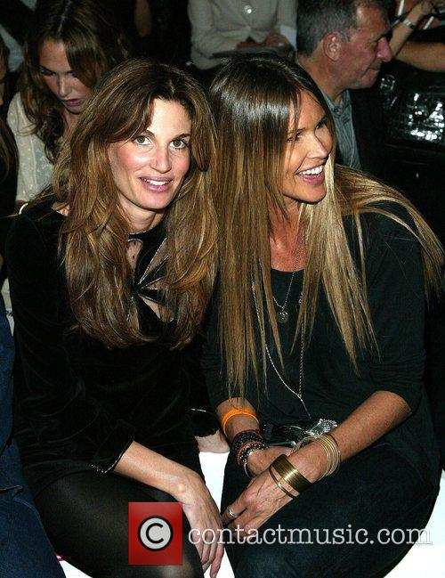 Elle Macpherson and Jemima Khan Fashion For Relief...