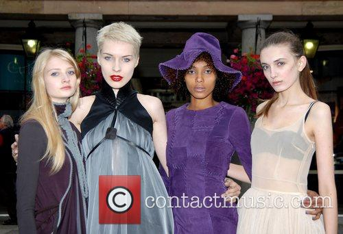 Models Fashion Fringe 2007 launch at Covent Garden,...