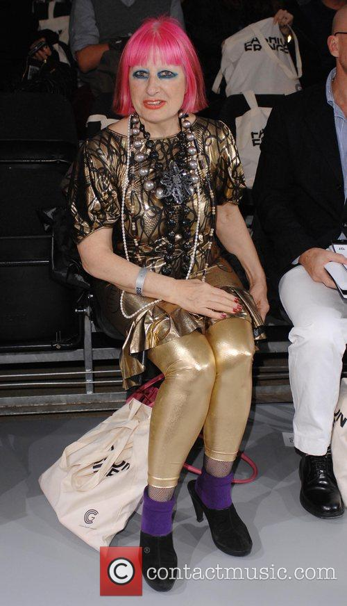 Zandra Rhodes London Fashion Week Spring/Summer 2008 -...