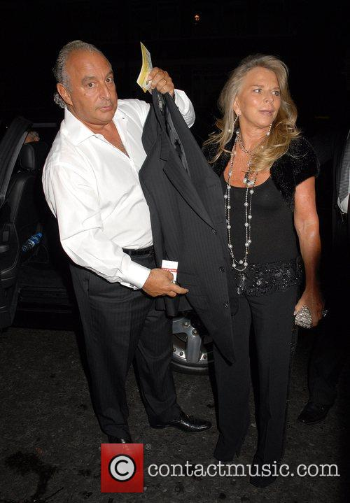 Sir Phillip Green,  Fashion For Relief at...