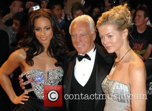 Alicia Keys, Giorgio Armani and Lady Helen Taylor 3