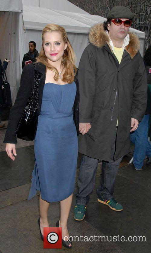 Brittany Murphy, Simon Monjack, Bryant Park, Mercedes Benz Fashion Week
