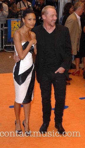 Thandie Newton and Simon Pegg 2