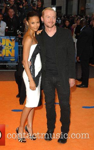 Simon Pegg and Thandie Newton 7