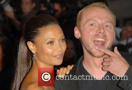 Simon Pegg and Thandie Newton 10