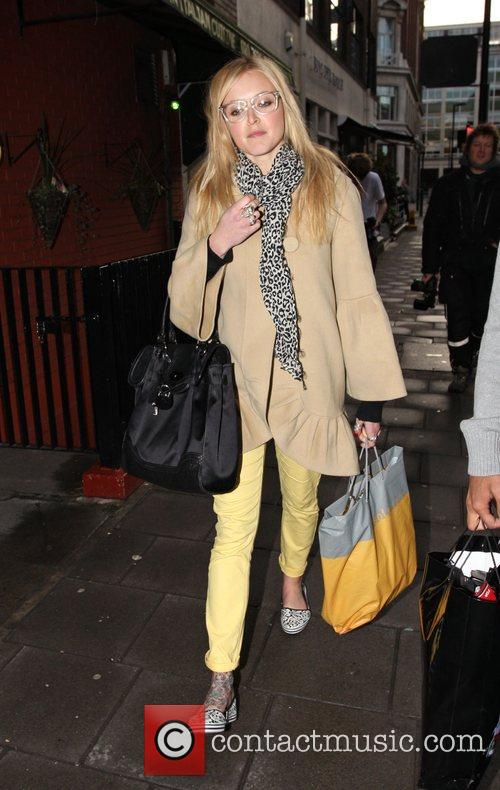 Fearne Cotton leaves the Radio One studios, after...