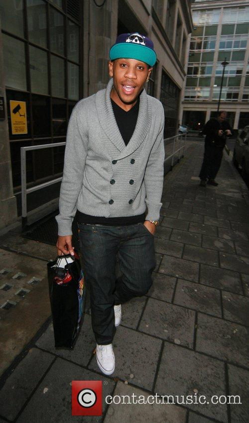 Reggie Yates leaves the Radio One studios, after...