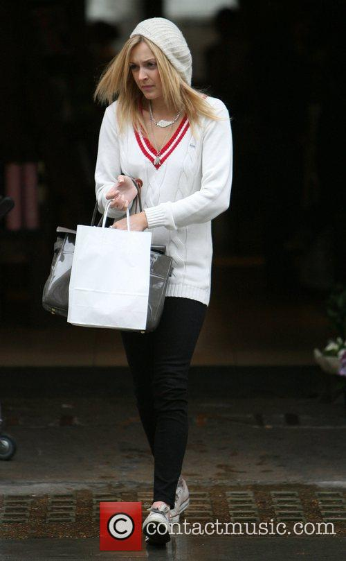 Fearne Cotton arrives at the Radio 1 studios...