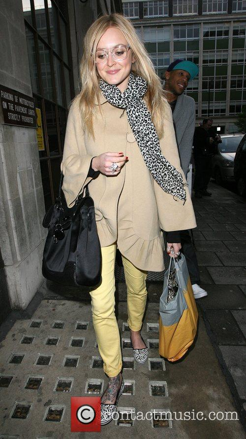 Fearne Cotton leaves the Radio 1 studios, after...