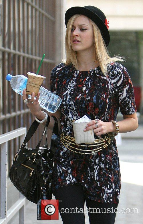 Fearne Cotton arrives at the Radio 1 studios,...
